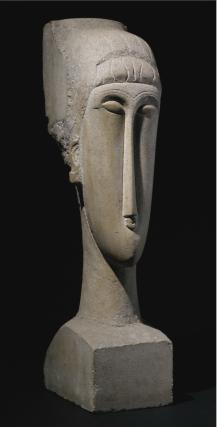 Modigliani head