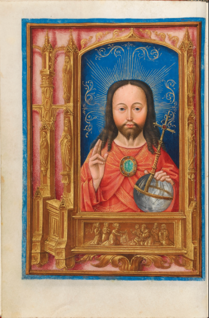 Ms1058-1975 f13v Painter of Add 15677 Fitz
