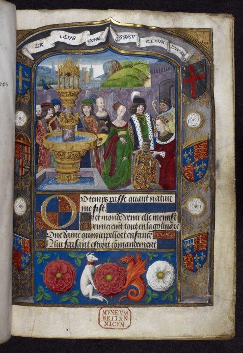 Royal 16.F.II, f.1