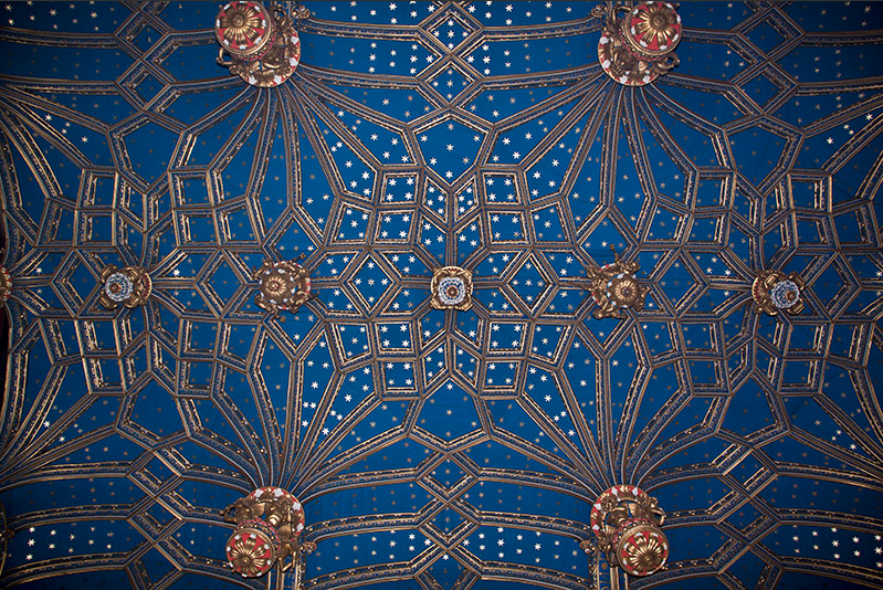 HCP Ceiling - blue