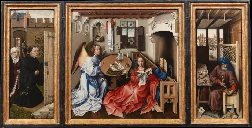 Merode Altarpiece - Campin