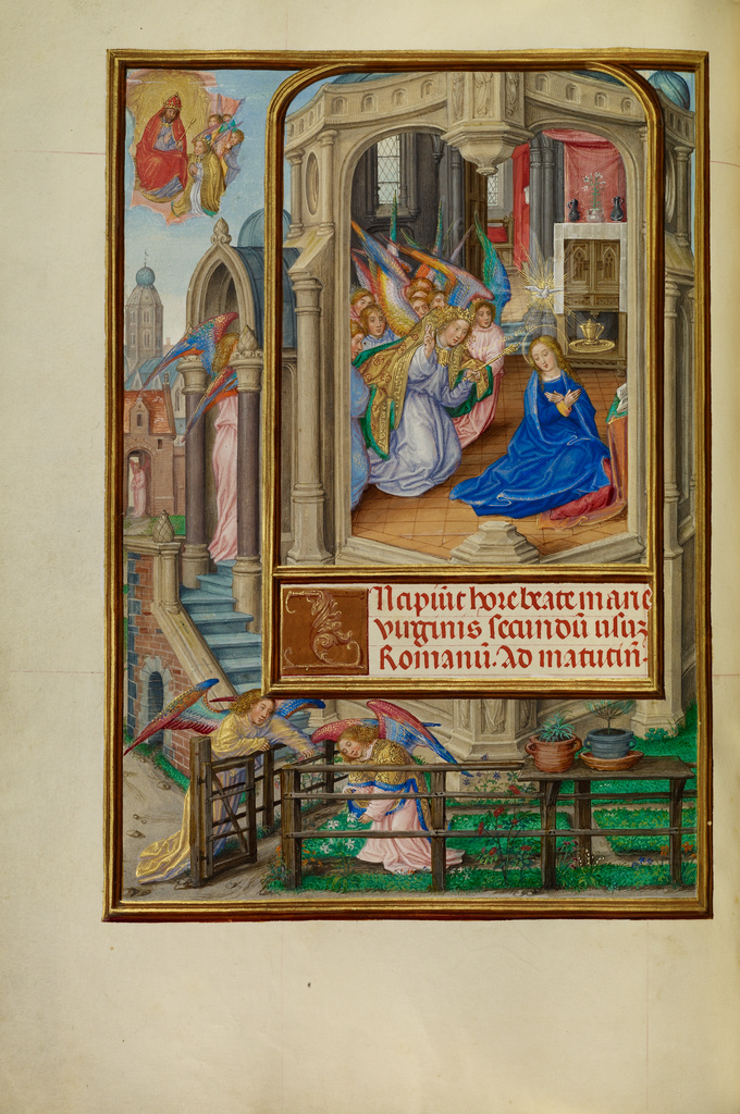 SPINOLA HRS Annunciation - James IV of Scotland Mstr