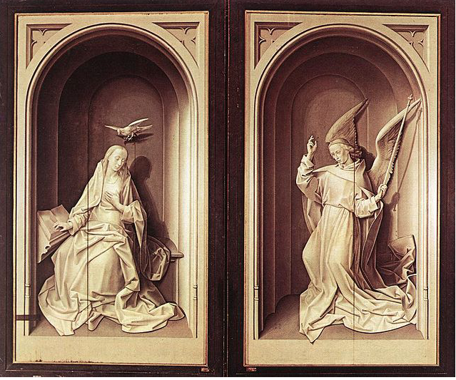 closed portinari Altarpiece